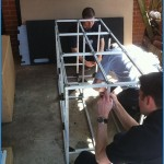Constructing the frame